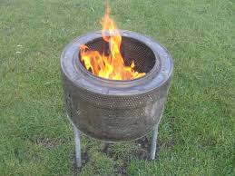 Making Fire Pit From Washer Tub - fire pits design fabulous how to make fire pit screen washing