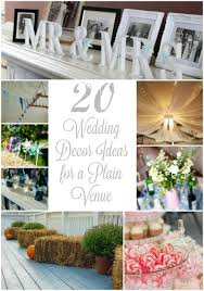 budget beautiful inspiration 20 wedding decor ideas for a plain