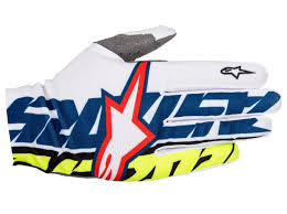 alpinestar tech 3 motocross boots alpinestars dune gloves motocross motorcycle blue white yellow