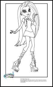 monster high gigi coloring pages getcoloringpages com