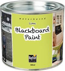 Designerpaint by Magpaint Blackboard Paint Lime 500ml By Designer Paint