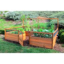 Build Your Own Home Kit by Vegans Living Off The Land How To Build A Raised Bed For Raised