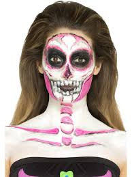 latex halloween mask kits neon skeleton liquid latex kit 46224 fancy dress ball