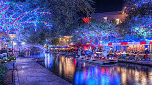 the san antonio riverwalk at time we don t light a