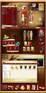 ancient egypt windowblinds skin theme ui pinterest ancient