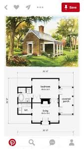 1 room cabin plans one bedroom house plan when the leave i would screen in the