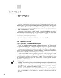 chapter 4 prevention paratransit emergency preparedness and