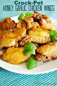 Main Dish Crock Pot Recipes - crock pot honey garlic chicken wings recipe honey garlic