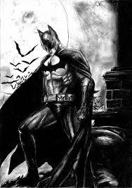 batman drawing onchonch deviantart