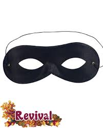 bandit mask halloween black bandit robber mask revival fancydress