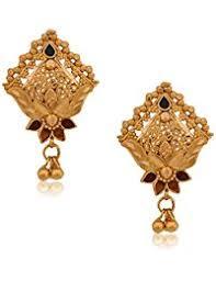 bengali earrings in senco gold earrings women jewellery