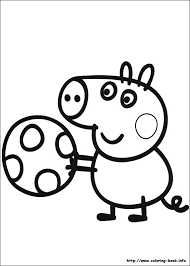 pig coloring picture