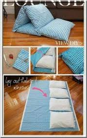 How To Make A Comfortable Bed How To Make A Cozy Pillow Bed Beginner Sewing Projects Pillow
