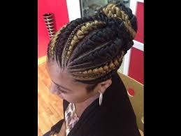 big cornrows big cornrows hairstyles beautiful cornrows for ladies youtube