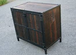 rustic industrial nightstand u2014 new decoration rustic industrial