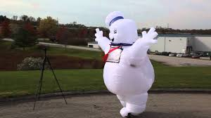 stay puft marshmallow costume stay puft marshmallow lawn decoration costume