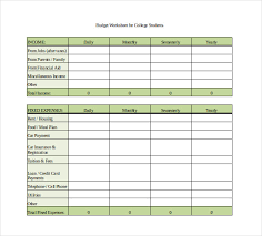 10 monthly budget spreadsheet templates free sample example