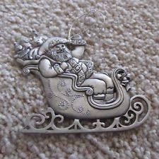 avon pewter ornament ebay