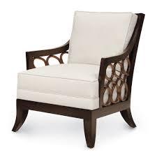 palecek carlo lounge chair 7122 rattan wicker furniture