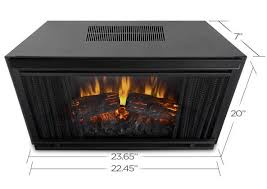 23 Inch Electric Fireplace Insert by 24