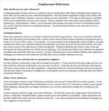 sample job reference 7 documents in pdf word