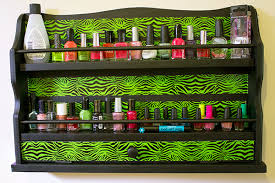 diy nail polish organizer for small spaces jaquo lifestyle magazine