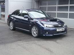 used 2012 subaru impreza sti type uk for sale in staffordshire