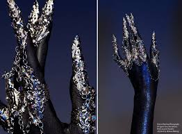 metal claws metal rings with metal claws by designer lory sun designer lory