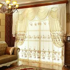vintage bedroom curtains thick floral lace white suede polyester vintage curtains