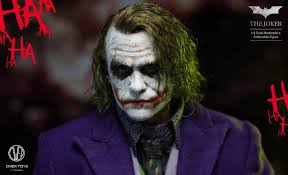 1 6 over toys the dark knight the joker with rooted hair joker