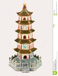 aquarium ornament pagoda stock photo image of japan 4453394