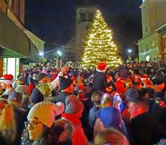 joe u0027s retirement blog christmas tree lighting plymouth