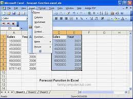 bar inventory spreadsheet number prediction formula sample excel