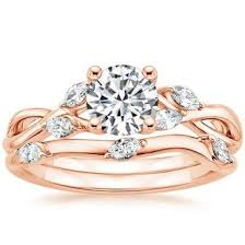 gold bridal sets wedding ring sets brilliant earth