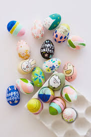 easter eggs for decorating 2018 easter egg decorating ideas from designers and illustrators