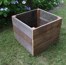 Redwood Planter Boxes by 20 Inch Square Redwood Planter Urban Garden Workshop