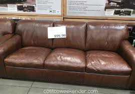 Furniture Costco Leather Sofas Reviews Fresh On Furniture Within