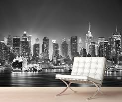 28 cityscape wall mural peel and stick photo wall mural new cityscape wall mural stickerswall new york city skyline manhattan cityscape