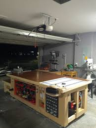 with the grain custom designs the ultimate workbench wood