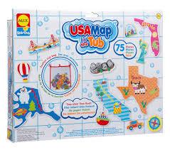Nfl Usa Map by Amazon Com Alex Toys Rub A Dub Usa Map In The Tub Toys U0026 Games