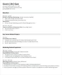 resume samples for marketing jobs marketing job skills resume
