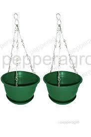 shop hanging and wall mount planters www pepperagro in