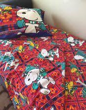 Snoopy Bed Set Vintage Snoopy Bed Ebay