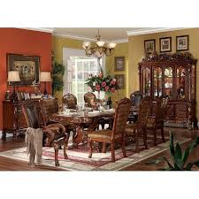 dresden formal dining room set acme furniture furniture cart