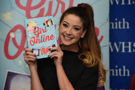 in pictures beauty blogger zoella greeted by excited fans at book