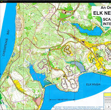 Maryland State Parks Map by Speedy U0027s Digital Orienteering Map Archive Elk Neck March 2012