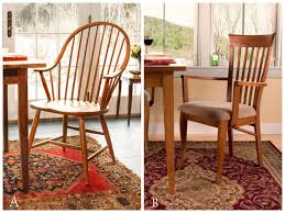which historic chair is right for your space windsor or shaker