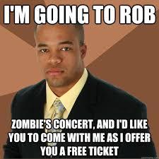 Meme Zombie - rob zombie memes