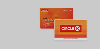 reloadable gift cards fleet gift cards circle k convenience store