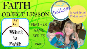 faith u0027 object lesson feather game series part 2 creative
